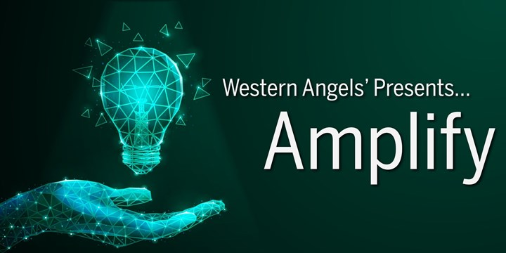 Amplify Green Event Banner Image Hand Holding Geometric Lightbuld